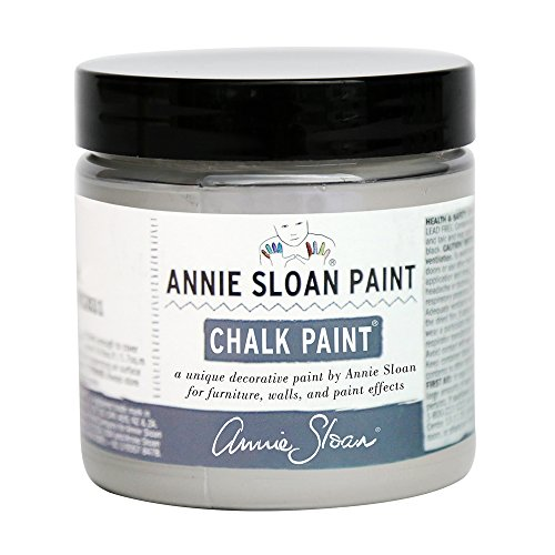 Chalk Paint (R) by Annie Sloan – Decorative Paint for Furniture, cabinets, Floors, Home Decor, and Accessories – Water-Based – Non-Toxic – Matte Finish (Project Pot - 4oz, French Linen) by Annie Sloan