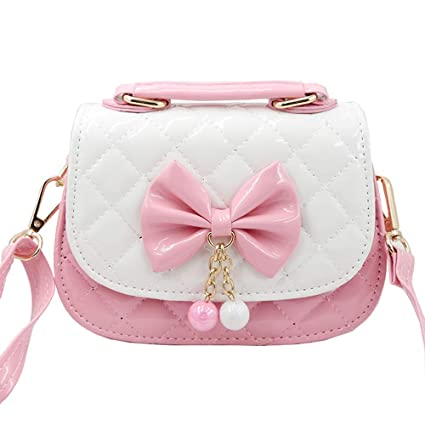 9e554842cf5be Image Unavailable. Image not available for. Color: Fineder Little Girls  Purse, Toddler Mini Cute Princess Crossbody Bag Handbags Shoulder ...