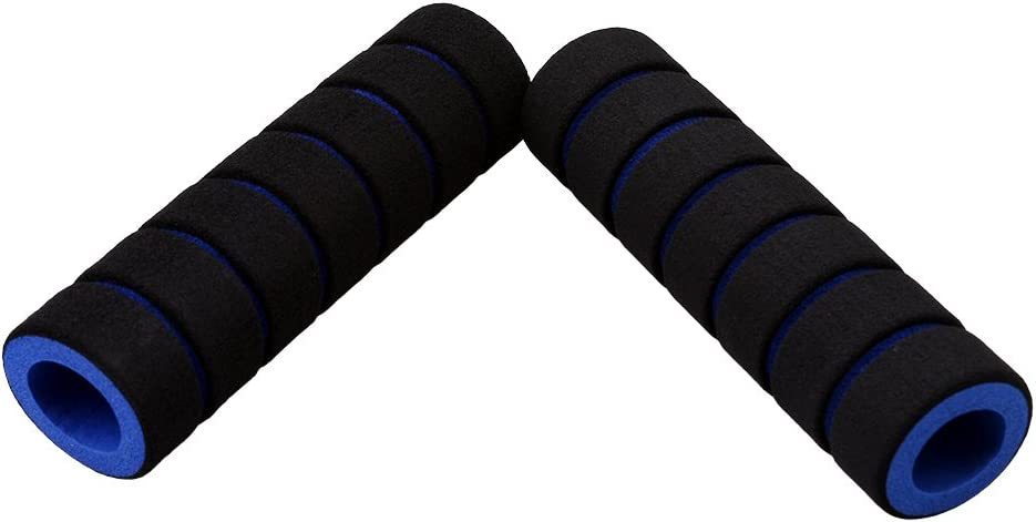 VWH 1 Pair Bicycle Handlebar Grip Bicycle Motorcycle Foam Sponge Handle Grip Cover