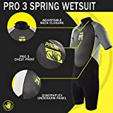 Body Glove Men's Pro 3 Spring Wetsuit, X-Large