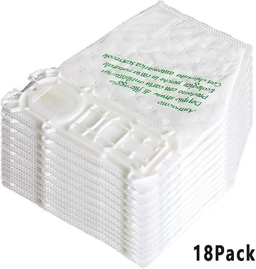 18 bolsas de aspiradora Vorwerk Kobold 135 de fieltro, adecuadas ...