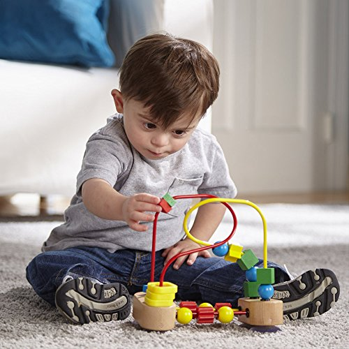 Melissa & Doug First Bead Maze - Wooden Educational Toy by Melissa & Doug (Image #2)