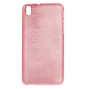 JUJEO Soft TPU Cell Phone Case for HTC Desire 816 - Non-Retail Packaging - Pink