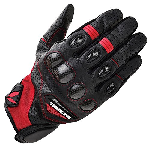 (RS Taichi VELOCITY LEATHER MESH GLOVE BLACK X-Large)