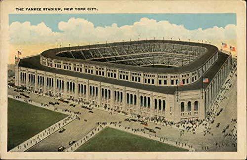 Yankee Stadium New York City, New York NY Original Vintage Postcard