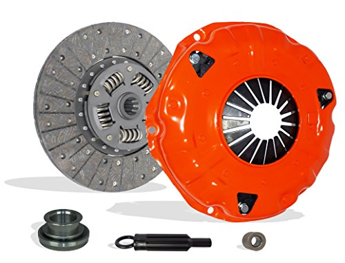 Clutch Kit Works With Buick Chevrolet Pontiac Oldsmobile Cutlass Cheyenne Custom Scottsdale Base Sport Sportvan Holiday Ventura Safari 1965-1978 4.1L L6 5.7L V8 GAS OHV Naturally Aspirated (Stage 1) - Oldsmobile Cutlass Cruiser Clutch