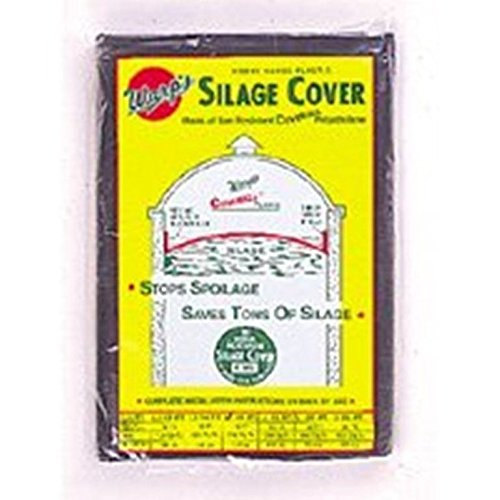 Warp Brothers 641103 Silage Cover Black, 20 Foot