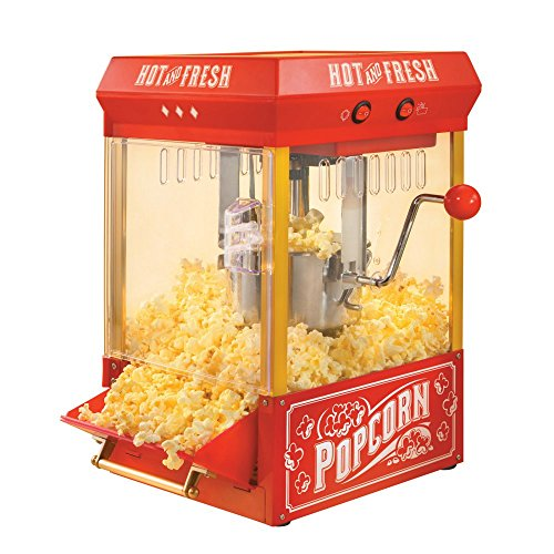 082677382887 - Nostalgia KPM200 Vintage Collection 2.5-Ounce Kettle Popcorn Popper carousel main 0
