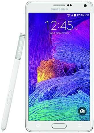 Samsung Galaxy Note 4, Frosted White 32GB (Verizon Wireless)