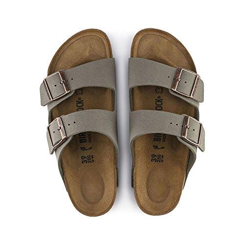 Birkenstock Arizona Stone Birkibuc Sandal 39 N (US Women's 8-8.5) by Birkenstock (Image #4)