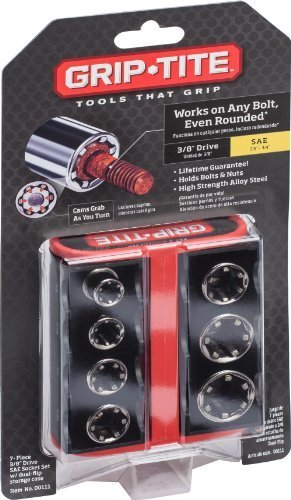 BT&F 00111 7-Piece SAE Socket Set by TV Non-Branded Items