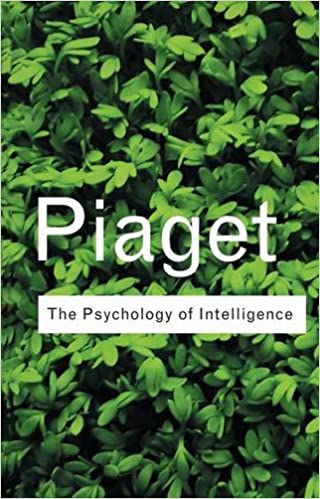 Book The Psychology of Intelligence (Routledge Classics)