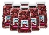 Harmony House Foods Freeze-Dried Sliced Strawberries (2 oz, Quart Size Jar) – Set of 6