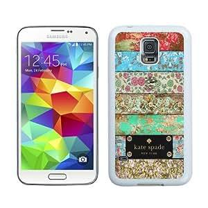 S5 case,Kate Spade 64 White Samsung Galaxy S5 cover