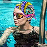 Se-Same Str-EET Swimming Cap,Comfortable Swimming