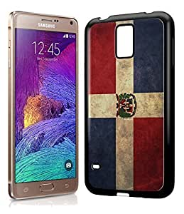 Dominican Republic Vintage Flag Phone Case Cover Designs for Samsung Galaxy Note 4