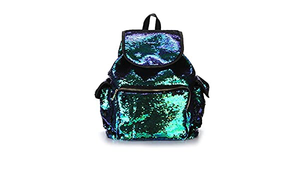 efd0268536d8 Amazon.com : Cicitop Shinning Backpack Purse for Girl Women Shoulder ...