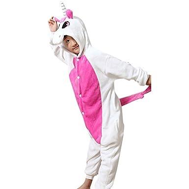 c2c1b517d YISHU Kinder Tier Kostüme Flanell Pyjama Schlafanzug Mädchen Jungen ...