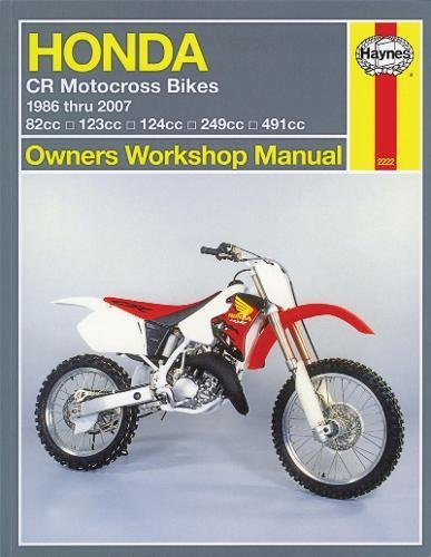 Honda CR Motocross Bikes, '86-'07 (Owners' Workshop Manual)