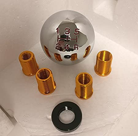 Rxmotor Universal 5 Speed Manual Transmission Round Shift Knob ...