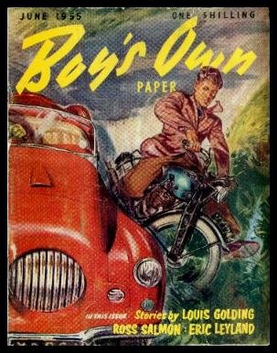 BOY'S OWN PAPER - Volume 77, number 10 - July 1955: Phantom Fortune; The Shrewd Banker; Pony Run; Encounter at Sea; Summer Exams in March or May; Scientists Will Probe the Aurora; Highways and Byways in Many Lands; Two Years in the Antarctic; Volleyball