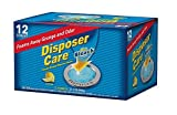 Cleaning a Garbage Disposal Glisten DP12B Disposer Care Foaming Garbage Disposer Cleaner-Twelve Pack (12 Uses)-Powerful Disposal Cleanser for Complete Cleaning of Entire Disposer-lemon Scented, 14.7 Oz