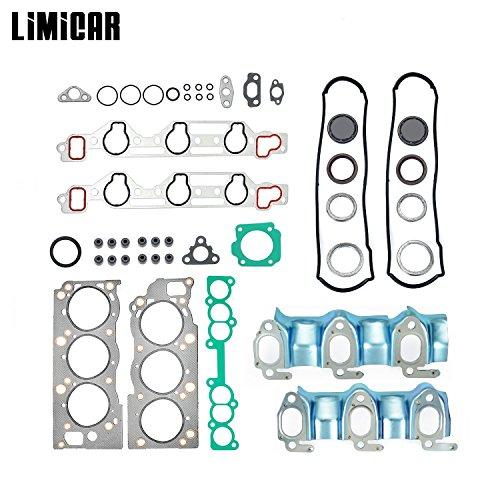 (LIMICAR Graphite Head Gasket Set For 1995 1996 1997 1998 Toyota 4Runner Pickup T100 3.0L V6 HS9728PT-1 HS2030)