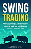 Swing trading: A guide for beginners, the best strategies for making profits in trading, forex, passive income, how to make money online in a few simple steps.