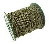 CleverDelights Ball Chain Spool - 330 Feet - Antique Bronze Color - 2.4mm Ball - #3 Size - 100 Meters