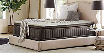 Berger & Strauss - 15 inch - Luxury Hybrid Memory Foam Mattress - Exclusive Breathable Memory Fiber Pockets - Certi-PUR Certified - 101 Night Risk Free Trial -