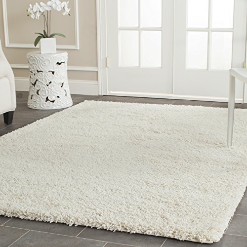 Safavieh California Shag Collection 4' x 6' Area Rug, Ivory