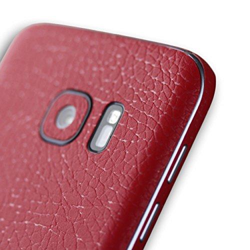 AppSkins Rückseite/Seitenteile Samsung Galaxy S7 Leather red
