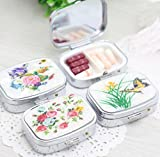 1 PCS Folding pill case container for Medicines Organizer Pill box Portable Pill cutter Splitters pastilleros pildoras estuche pillbox
