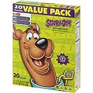 Betty Crocker Fruit Snacks, Scooby Doo Snacks, Value Pack, 20 Pouches, 0.8 oz Each