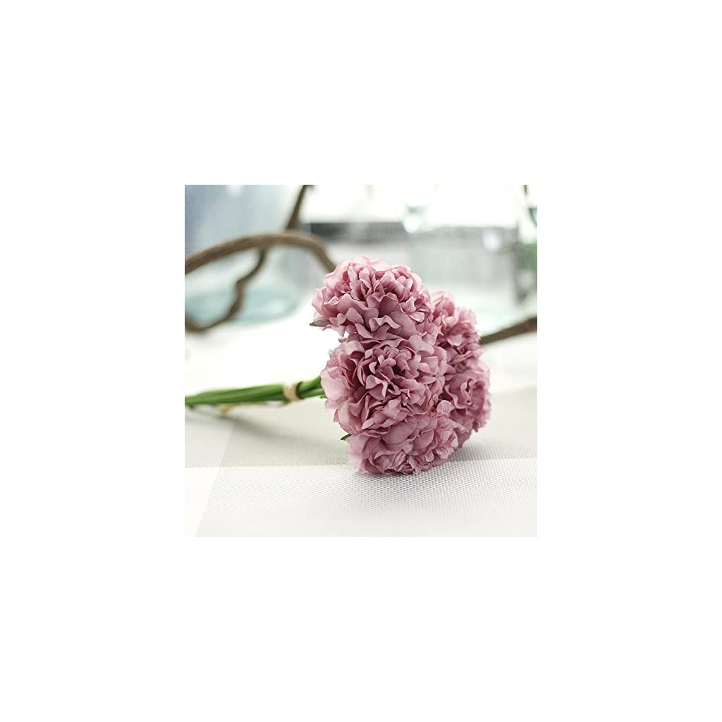 1-Bouquet-5pcs-Wedding-Artificial-Hydrangea-Flower-Home-Party-Floral-Decoration-Pink-Green