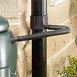 Contenedor de agua desviador Kit Compatible con redondo y cuadrado tubería bajante gastos de envío gratis