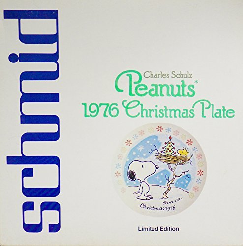 (F.X. Schmid Peanuts 1976 Limited Edition Christmas Plate)