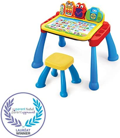 toys, games, kids' electronics,  electronic learning toys 10 discount VTech Touch and Learn Activity Desk Deluxe deals
