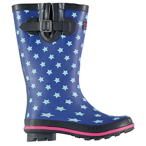 Harry Hall Kinder Wellington 82 Gummistiefel Blau