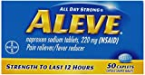 Aleve Caplets, 50 Count