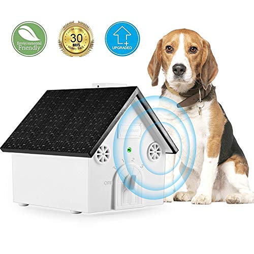 TAKUSKY Bark Control Device | Ultrasonic Anti Barking Deterrent | Training Tool | No Barking, Stop Barking | Safe for Small/Medium/Large Dogs | Indoor and Outdoor use | up to 50 Feet Range (Upgraded)