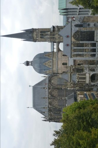 Aachen Cathedral in Germany Journal: 150 page lined notebook/diary