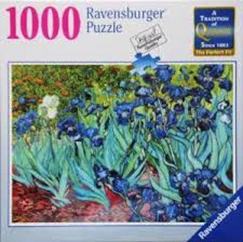 Ravensburger Puzzle VAN GOGHs IRISES 1000 Piece Jigsaw Puzzle