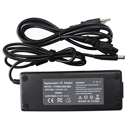 19.5V 6.7A 130W AC Adapter Charger for Dell Precision M20 M60 M70 M90 M2400 3510 M2800 M4500 M6300 Inspiron 15 7557 7559 7560 7566 5160