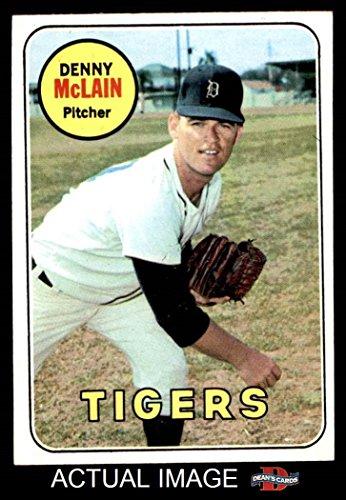 1969 Topps # 150 Denny McLain Detroit Tigers (Baseball Card)