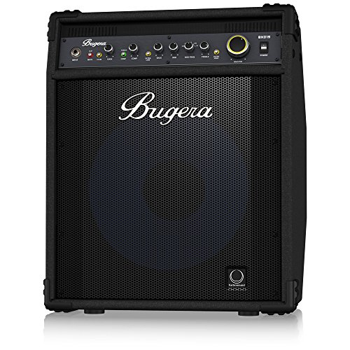 - BUGERA BXD15A 1000-Watt 2-Channel Bass Amplifier with 15