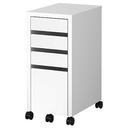 Amazoncom Ikea Micke Drawer Unitdrop File Storage White 502130