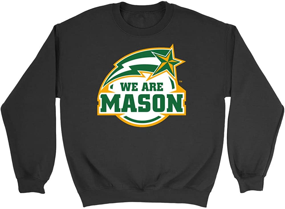 NCAA George Mason Patriots RYLGMU04 Womens Crop T-Shirt