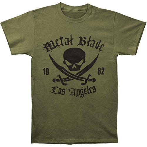metal blade records t shirt - 9