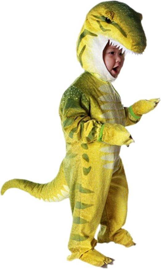 Disfraces de Dinosaurio Cosplay Pijama Dinosaurio para Fiesta Halloween Adecuada 105cm-125cm